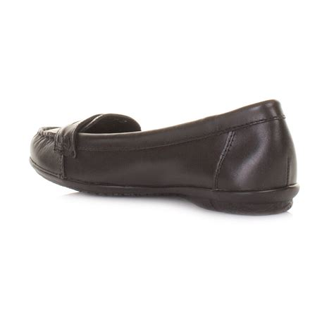 hush puppies ceil black womens hush puppies ceil black leather ceil loafers