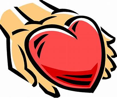 Kindness Clipart Generosity Heart Hands Kind Hearted