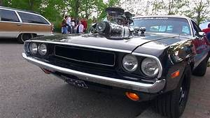 Supercharged 572 Hemi Dodge Challenger