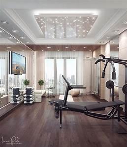 Fitnessstudio Zu Hause : fitnessraum zu hause luxus ~ Indierocktalk.com Haus und Dekorationen