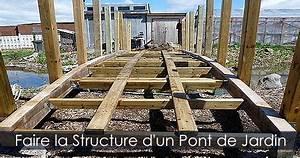 Pont En Bois Pour Jardin : fabriquer un pont de jardin en bois photos et plan de construction ~ Nature-et-papiers.com Idées de Décoration