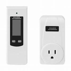 Wireless Thermostat With Remote Control Lcd Display Heating