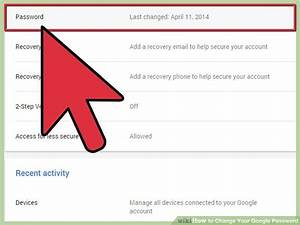 how to change your google password 10 steps with pictures With google docs login and password