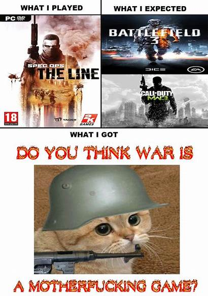 Spec Ops Line Got Watched Expected Meme