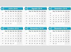 Calendário 2019 【COM FERIADOS 2019】 Calendário 2019