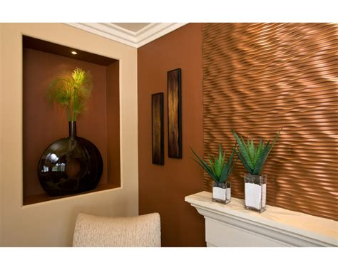 Fireplace Accent Wall Ideas by Pretty Textured Walls Vogue Orange County Contemporary