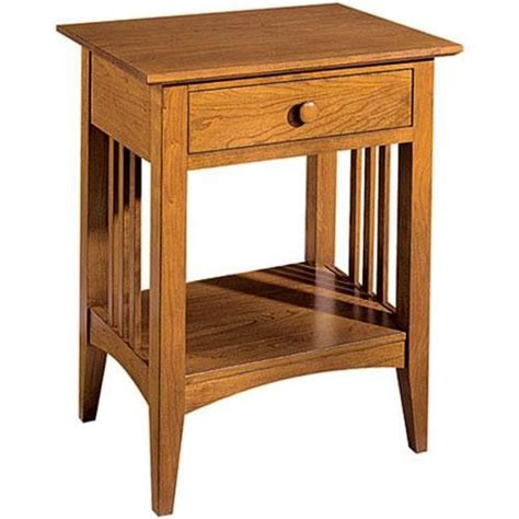 Mission Style Nightstand Plans mission contemporary nightstand woodworking plan