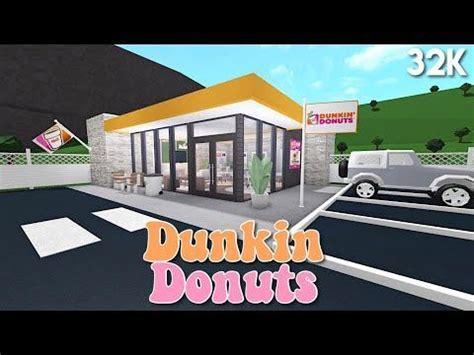 gamepasses dunkin donuts bloxburg speedbuild donuts donuts deccor bedroom   house