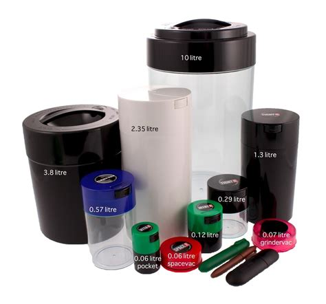 Airtight Spice Containers by Tightvac All Sizes Food Herb Spice Airtight Smellproof