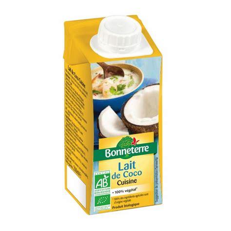 coco cuisine lait de coco cuisine 200ml bonneterre acheter sur