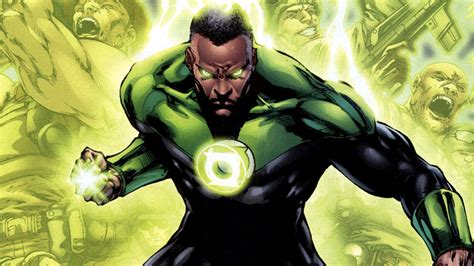 evolution  green lantern john stewart