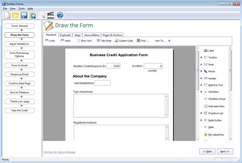 php form builder  jquery support   desktop