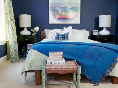 deco chambre bleu calmante  relaxante en  idees design