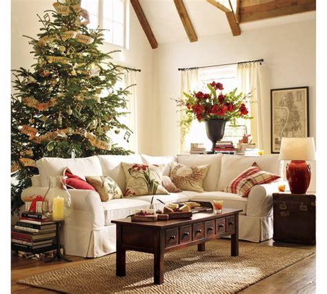 elegant christmas country living room decor ideas