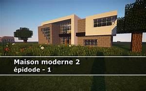 Minecraft Maison Moderne En Bois Ventana Blog