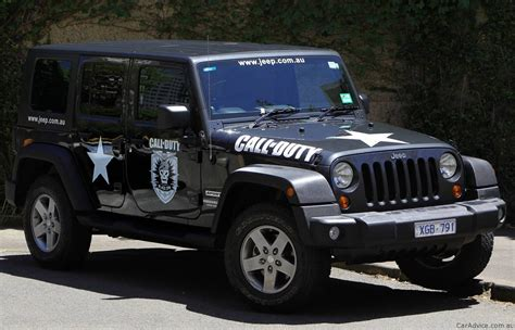car jeep black jeep wrangler call of duty black ops photos 1 of 3