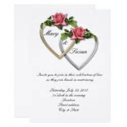 wedding program sles wedding invitation wording sles two hearts wedding invitation ideas