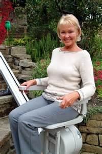 Monte Escalier Acorn 180 by Acorn Stair Lifts Model 120 Outdoor Sit Frame Stair Lift