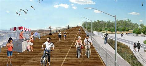 elevated boardwalk  provide  york flood resilience