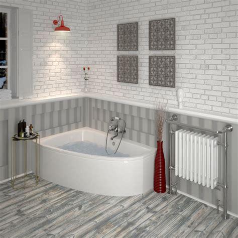 Small Whirlpool Bath by Clia Left Offset Corner Bath Panel Buy At