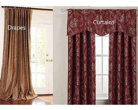 curtains and draperies drapes vs curtains homeverity