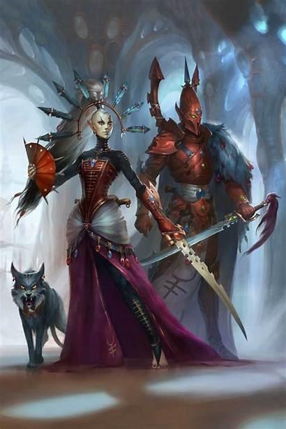 40k Warhammer Yvraine Warrior Ghost Ynnari Anna