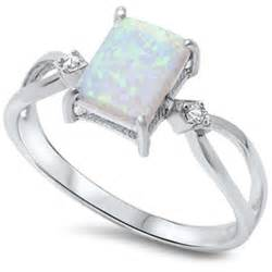 opal engagement ring size 4 12 925 sterling silver princess cut australian opal ring wedding engagement promise