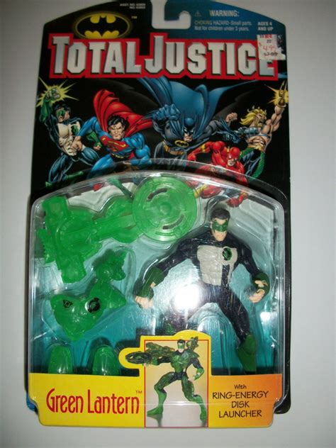 total justice 1996 green lantern action figure