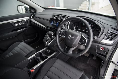 honda cr  vti interior