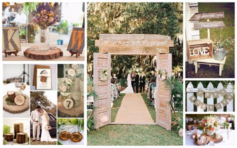 rustic themed wedding quot a quot creative events formerly
