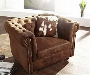 1 5 Sitzer Sessel : 1 sitzer chesterfield braun abgesteppt antik optik sessel ~ Indierocktalk.com Haus und Dekorationen