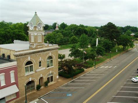 west point ms city hall  park photo picture image