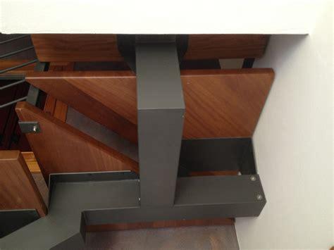 corrimano in legno tondo ringhiere scale in acciaio s m a serramenti