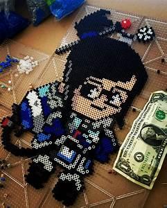 Phelps Designs Mei Overwatch Perler Beads By Hayleyraeanne Diy Perler