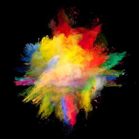 color dust wallpaper powder explosion 6000x6000 abdullahsindhu