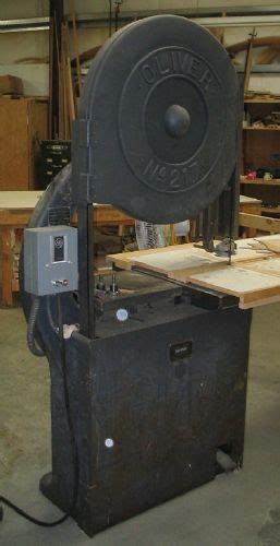 photo index oliver machinery     bandsaw