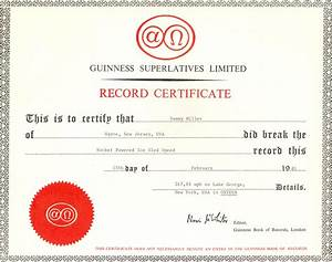untitled document wwwvetechnetcom With guinness world record certificate template