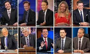 Who your favourite current late-night talk show host ...