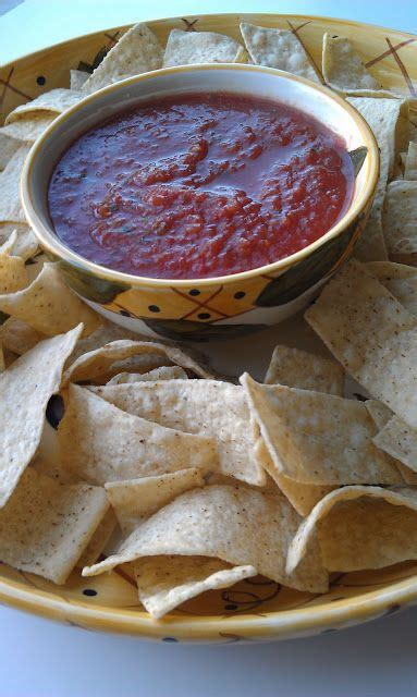 Also, this recipe is very easy and quick so you get amazing flavors by using fresh garden vegetables! A Craving for Salsa   Easy salsa recipe, Easy homemade salsa, Salsa with canned tomatoes