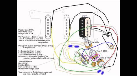 hss strat 2 vol 1 master tone split wiring doubts fender stratocaster guitar