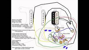 Diagram  1 Volume 1 Tone 2 Humbucking Emg Active Wiring