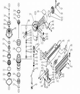 Porter Cable Fn250b Parts List