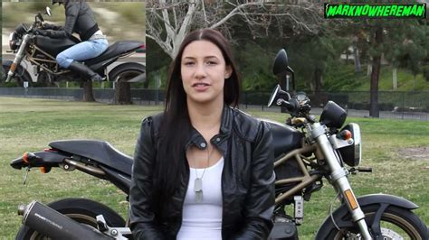 Her Advice To The Beginner Motorcycle Riders Out There