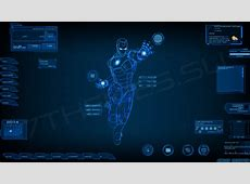 Stark Industries Skin For Rainmeter Windows10 Themes I