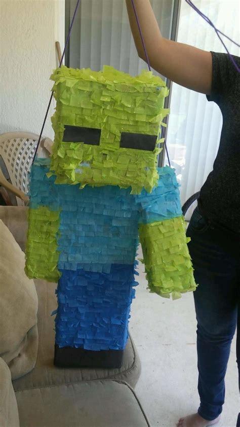 minecraft zombie pinata boy