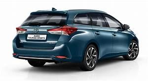 Toyota Auris Break Hybride : toyota auris touring sports avant gardiste ~ Medecine-chirurgie-esthetiques.com Avis de Voitures
