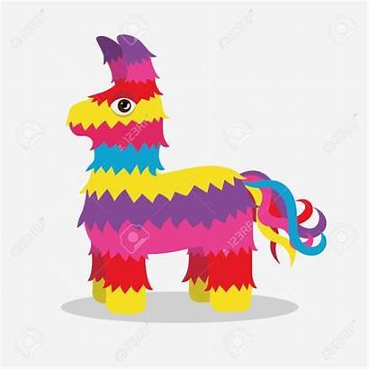 Pinata Clipart Vector Donkey Clip Mexican Thanksgiving