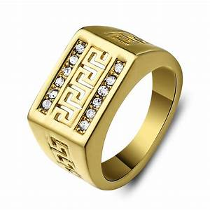 Wedding rings men39s precious stone rings stone ring for Large mens wedding rings