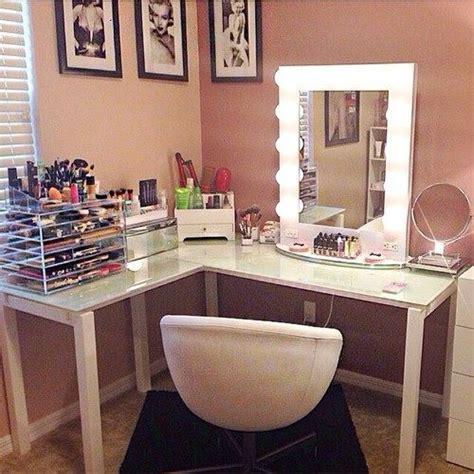 diy l shaped bathroom vanity best 25 corner makeup vanity ideas on diy