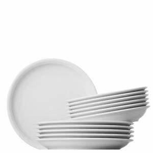 Thomas Trend Weiß Speiseteller : thomas trend wei tafelset 12 teilig 6 speiseteller 6 suppenteller weiss neu ebay ~ Orissabook.com Haus und Dekorationen